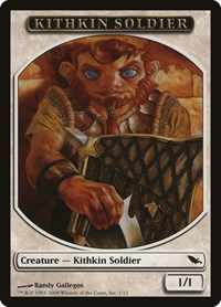 Kithkin Soldier Token, Magic: The Gathering, Shadowmoor