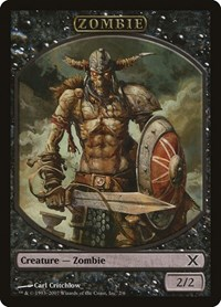 Zombie Token, Magic: The Gathering, 10th Edition