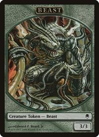 Beast Token (Darksteel), Magic: The Gathering, Magic Player Rewards