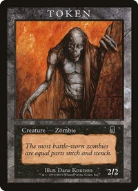 Zombie Token (Odyssey), Magic: The Gathering, Magic Player Rewards