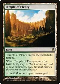 Temple of Plenty, Magic, Born of the Gods