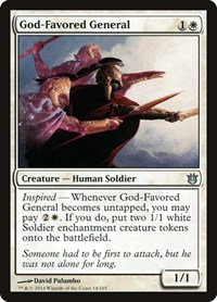 God-Favored General, Magic, Born of the Gods