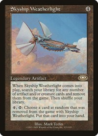 Skyship Weatherlight, Magic: The Gathering, Planeshift
