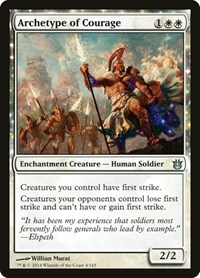 Archetype of Courage, Magic: The Gathering, Born of the Gods