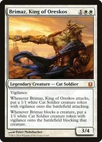 Brimaz, King of Oreskos, Magic: The Gathering, Born of the Gods