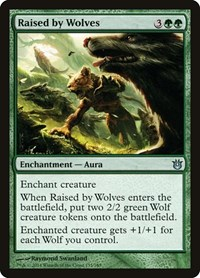Raised by Wolves, Magic: The Gathering, Born of the Gods