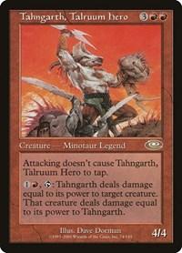 Tahngarth, Talruum Hero, Magic: The Gathering, Planeshift
