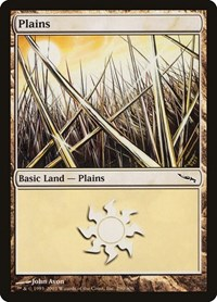 Plains (290), Magic: The Gathering, Mirrodin