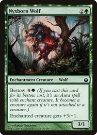 Nyxborn Wolf, Magic: The Gathering, Born of the Gods
