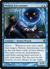 Meletis Astronomer, Magic: The Gathering, Born of the Gods