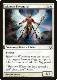 Akroan Skyguard, Magic, Born of the Gods