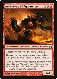 Archetype of Aggression, Magic: The Gathering, Born of the Gods