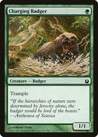 Charging Badger, Magic: The Gathering, Born of the Gods