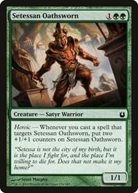 Setessan Oathsworn, Magic, Born of the Gods
