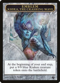 Emblem - Kiora, the Crashing Wave, Magic, Born of the Gods