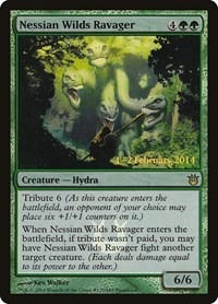 Nessian Wilds Ravager, Magic: The Gathering, Prerelease Cards
