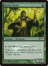 Elvish Mystic, Magic: The Gathering, FNM Promos