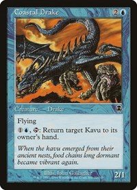 Coastal Drake, Magic: The Gathering, Apocalypse