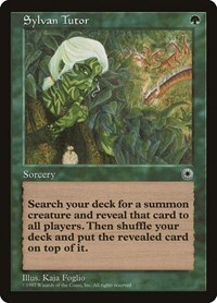 Sylvan Tutor, Magic: The Gathering, Portal