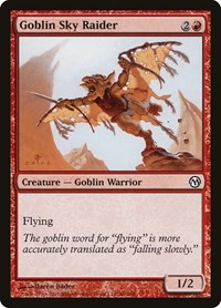 Goblin Sky Raider, Magic: The Gathering, Duels of the Planeswalkers