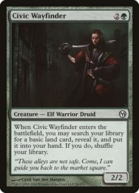 Civic Wayfinder, Magic: The Gathering, Duels of the Planeswalkers