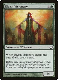 Elvish Visionary, Magic: The Gathering, Duels of the Planeswalkers