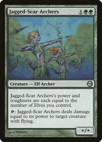 Jagged-Scar Archers, Magic: The Gathering, Duels of the Planeswalkers