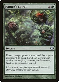 Nature's Spiral, Magic: The Gathering, Duels of the Planeswalkers