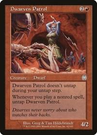 Dwarven Patrol, Magic: The Gathering, Apocalypse
