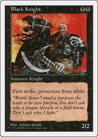 Black Knight, Magic, Anthologies