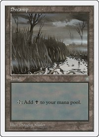 Swamp (Ice Age), Magic: The Gathering, Anthologies