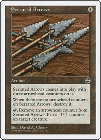 Serrated Arrows, Magic, Anthologies