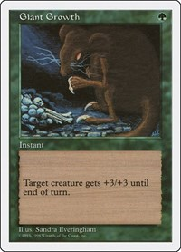 Giant Growth, Magic: The Gathering, Anthologies