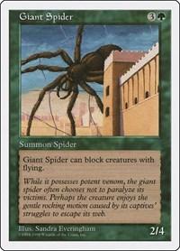 Giant Spider, Magic: The Gathering, Anthologies