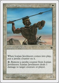 Icatian Javelineers, Magic: The Gathering, Anthologies