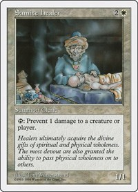 Samite Healer, Magic: The Gathering, Anthologies