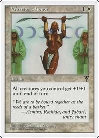 Warrior's Honor, Magic: The Gathering, Anthologies