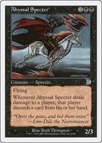 Abyssal Specter, Magic, Deckmasters Garfield vs Finkel
