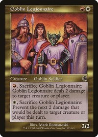 Goblin Legionnaire, Magic: The Gathering, Apocalypse