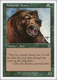 Balduvian Bears, Magic: The Gathering, Deckmasters Garfield vs Finkel