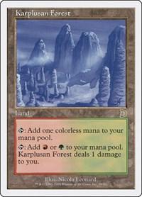 Karplusan Forest, Magic: The Gathering, Deckmasters Garfield vs Finkel