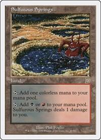 Sulfurous Springs, Magic: The Gathering, Deckmasters Garfield vs Finkel