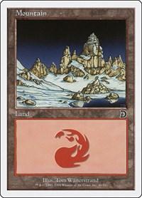 Mountain (46), Magic: The Gathering, Deckmasters Garfield vs Finkel