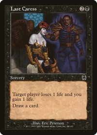 Last Caress, Magic: The Gathering, Apocalypse