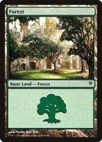 Forest (85), Magic: The Gathering, Duel Decks: Jace vs. Vraska