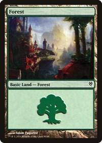 Forest (86), Magic: The Gathering, Duel Decks: Jace vs. Vraska