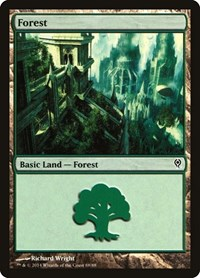 Forest (88), Magic: The Gathering, Duel Decks: Jace vs. Vraska