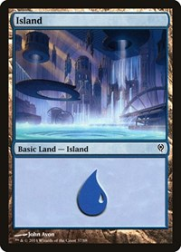 Island (37), Magic: The Gathering, Duel Decks: Jace vs. Vraska