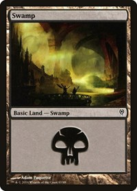 Swamp (81), Magic: The Gathering, Duel Decks: Jace vs. Vraska