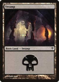 Swamp (79), Magic: The Gathering, Duel Decks: Jace vs. Vraska
